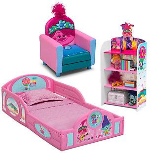 Delta Children Trolls World Tour Toddler Bedroom Bundle, , large