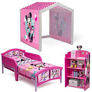 Delta Children Minnie Mouse Toddler Bedroom Bundle, , large