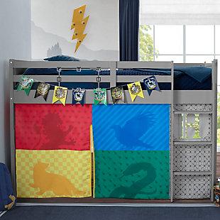 Delta Children Harry Potter Twin Low Loft Bed Bedroom Bundle, , rollover
