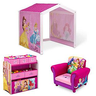 Delta Children Princess Kids Playroom Bundle, , large