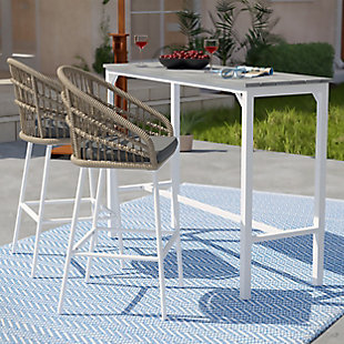 Outdoor Bar Table and 2 Barstools, , rollover