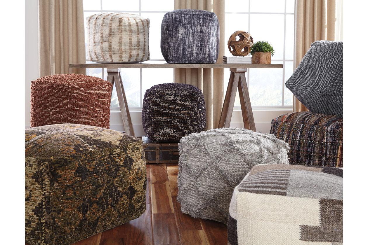 Level Design Pouf.Adelphie Pouf Ashley Furniture Homestore