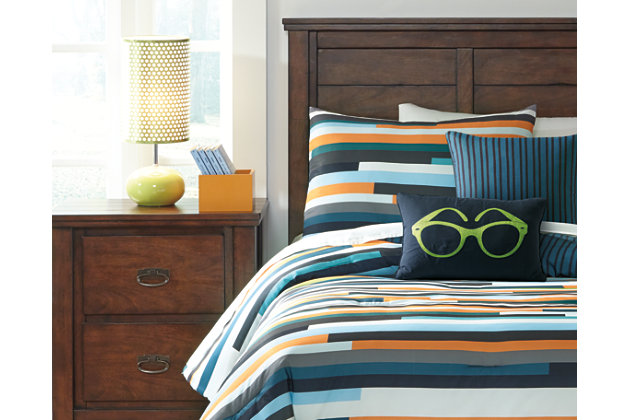 stripe seventy 5piece twin comforter set view 1