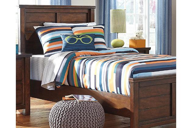 Seventy 5-Piece Twin Comforter Set, Stripe, large