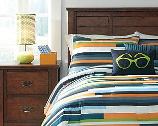 Seventy 5-Piece Comforter Set, , rollover