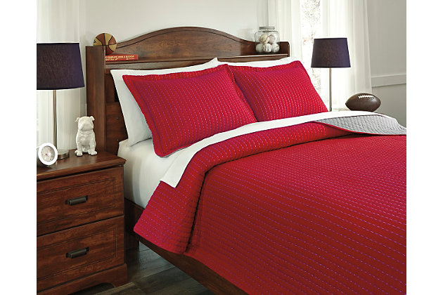 Dansby 3-Piece Full Coverlet Set by Ashley HomeStore, , C...