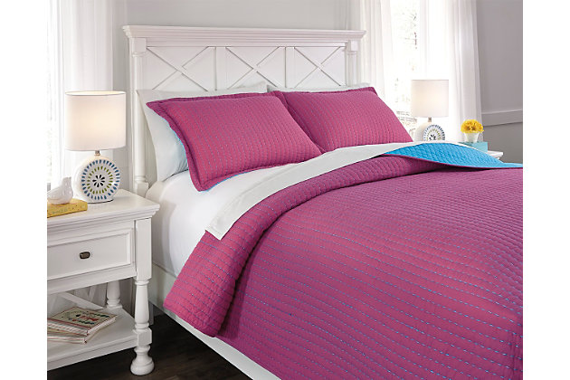 Dansby 3-Piece Full Coverlet Set by Ashley HomeStore