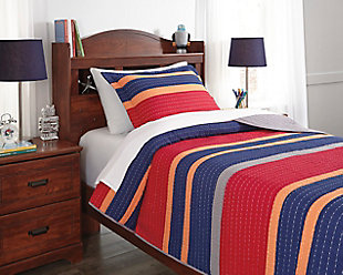 Damond 2-Piece Twin Quilt Set, , rollover