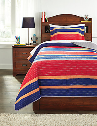Damond 2-Piece Twin Quilt Set, , large
