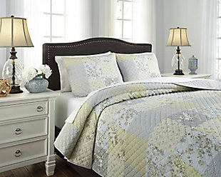 Damani 3-Piece Queen Quilt Set, Multi, rollover