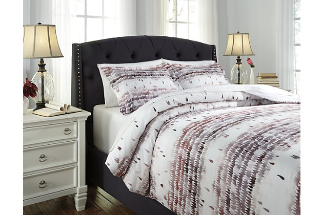 Click here for Danessa 3-Piece Queen Duvet Cover Set by Ashley Ho... prices
