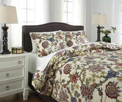 Ashley King Duvet Cover Set Dameka