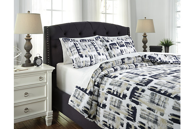 Dannell 3-Piece King Duvet Cover Set by Ashley HomeStore