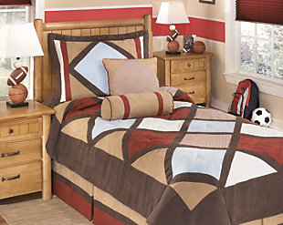 Academy 5-Piece Twin Comforter Set, Multi, rollover