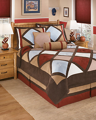 Academy 5-Piece Comforter Set, , large