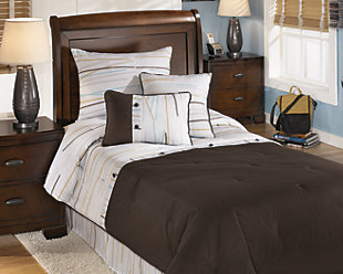 Stickly 5-Piece Twin Comforter Set, , rollover