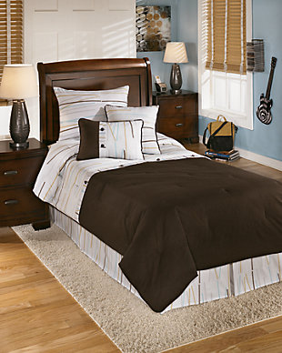 Stickly 5-Piece Twin Comforter Set, , large