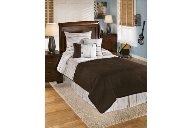 multi stickly 5piece twin comforter set view 1