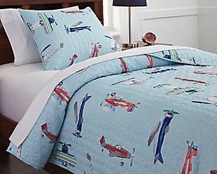McAllen 2-Piece Twin Quilt Set, Multi, rollover