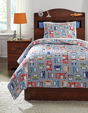 Beaverton 2-Piece Twin Quilt Set, , large