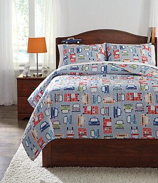 Beaverton 3-Piece Full Quilt Set, , large
