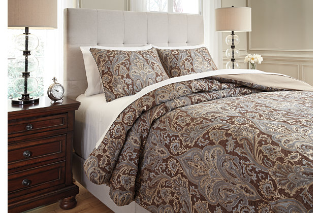 Asali 3-Piece King Comforter Set by Ashley HomeStore, , P...