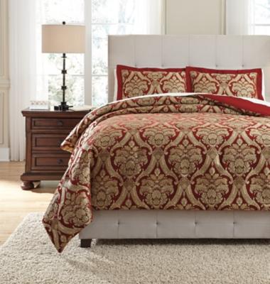 Asasia 3-Piece Queen Comforter Set by Ashley HomeStore, G...