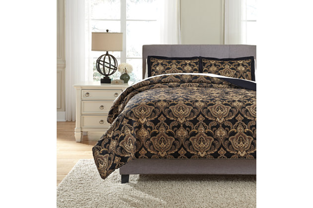 Amberlin 3-Piece King Comforter Set by Ashley HomeStore, ...