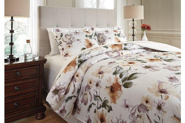 Balere 3-Piece Queen Comforter Set, , large