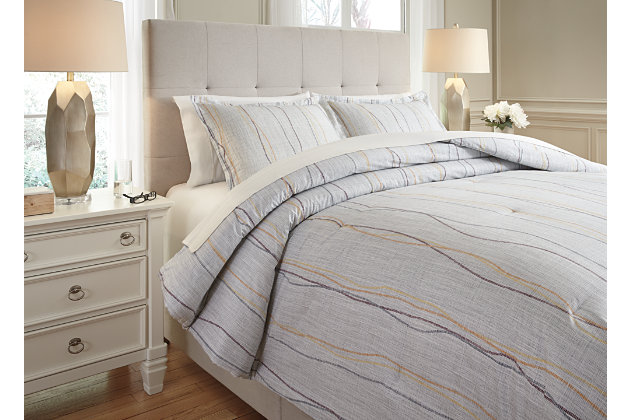 Bevan 3-Piece Queen Comforter Set by Ashley HomeStore, Mu...