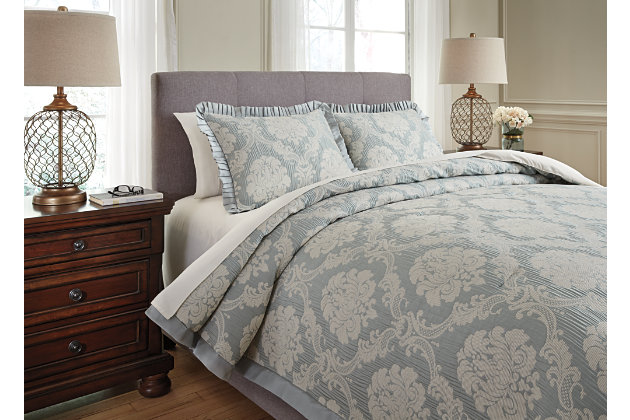 Joisse 3-Piece King Comforter Set by Ashley HomeStore, Gr...