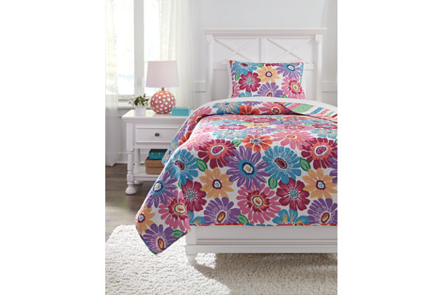 Alexei 2-Piece Twin Quilt Set, Multi, large