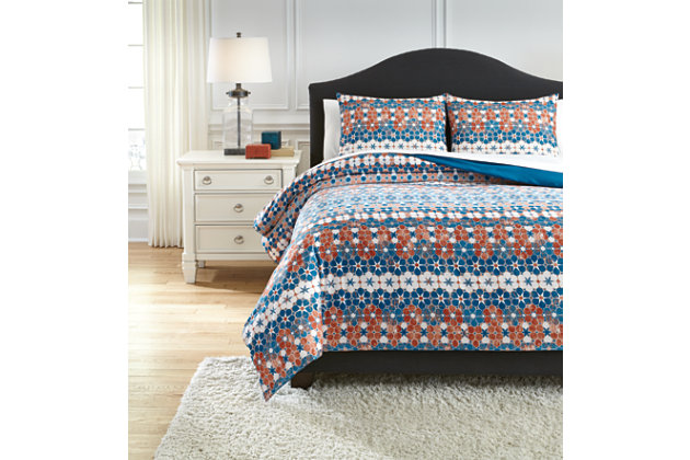 Jackalyn 3-Piece Queen Comforter Set, , large
