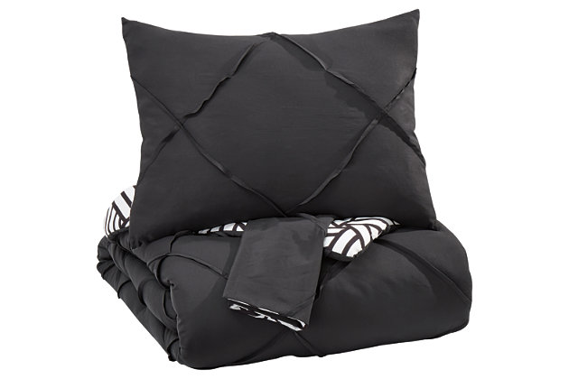 Jaylee 3-Piece King Comforter Set, , large