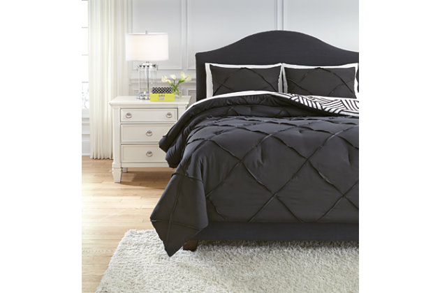 Jaylee 3-Piece Queen Comforter Set, , large