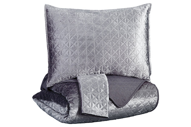 Maryam 3-Piece King Coverlet Set, , large