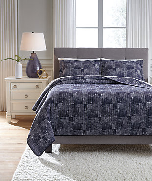 Jabesh 3-Piece Queen Quilt Set, , rollover