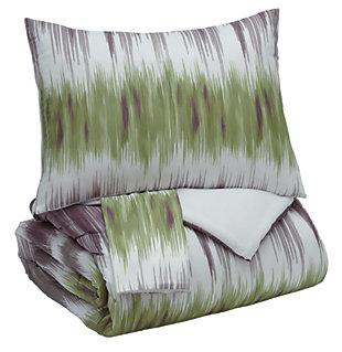 Agustus 3-Piece King Comforter Set, , large