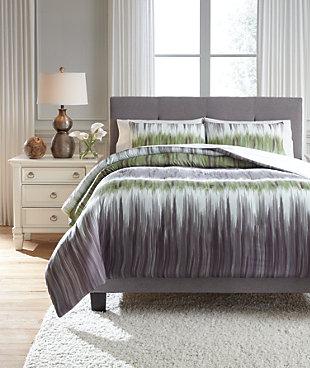 Agustus 3-Piece Queen Comforter Set, , large
