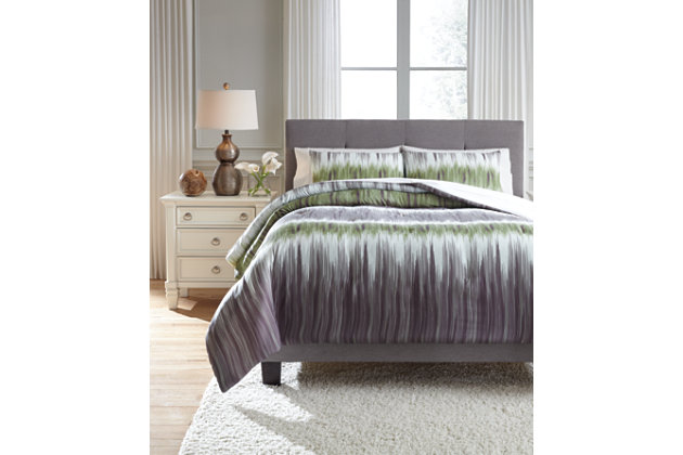 Agustus 3-Piece King Comforter Set by Ashley HomeStore, ,...