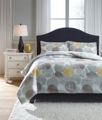 Gastonia 3-Piece Queen Comforter Set, , large