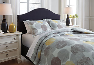 Gastonia 3-Piece Queen Comforter Set, , large