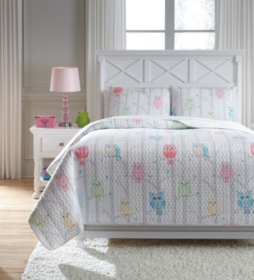 Lucille 3-Piece Full Coverlet Set by Ashley HomeStore, Multi
