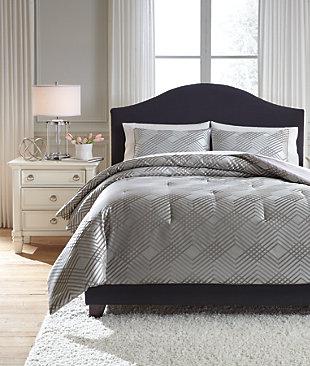 Anjelita 3-Piece Queen Comforter Set, , large