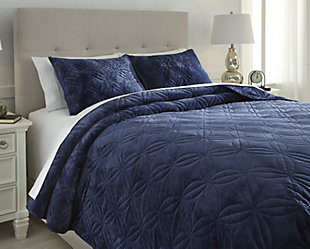 Linette 3-Piece Queen Quilt Set, , rollover