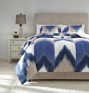 Mayda 3-Piece King Comforter Set, , large