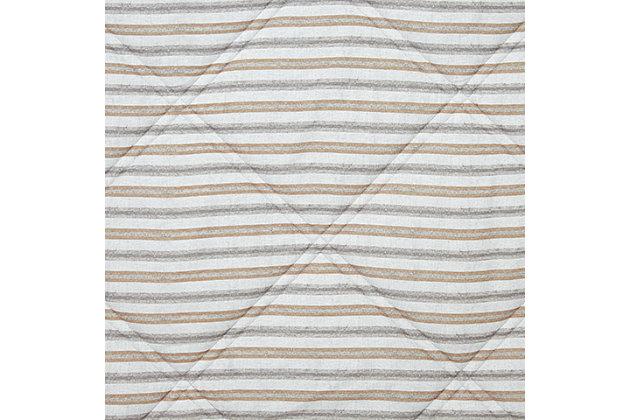 Rhey 2-Piece Twin Comforter Set, Tan/Brown/Gray, large