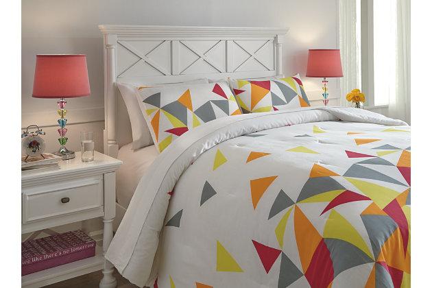 Maxie 3-Piece Full Comforter Set, , large