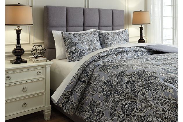 Susannah 3-Piece King Comforter Set, , large