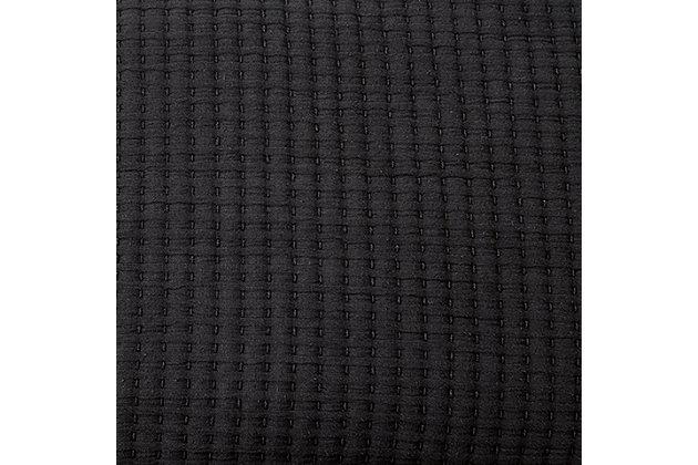 Thornam 3-Piece Queen Coverlet Set, Black, large